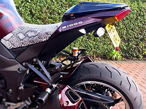 Z1000SX Z1000 Honda CB1000R Fender Eliminator//Tail Tidy for the Kawasaki Ninja 1000