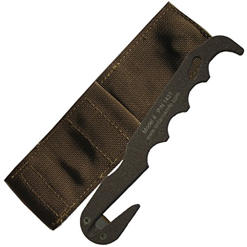 Cutter Strap (Ontario 1431 Model 4 CB Strap Cutter Rescue Tool (Brown))