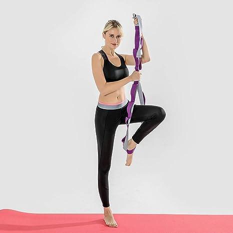 Guajave Yoga Cinturón Pierna Strectching Correa Cinturón ...