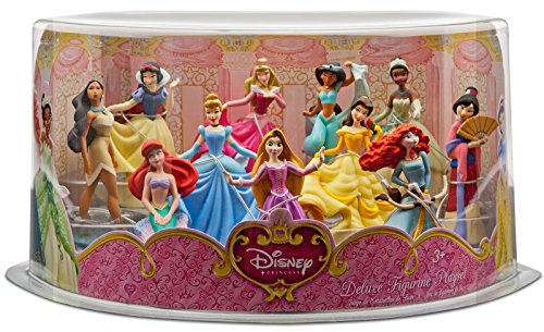 Disney Princess Deluxe Figurine Playset (11 Dolls -