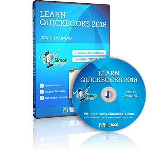 Learn QuickBooks 2018 Training Video Tutorials: Manage Your Small Business Finances