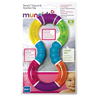 Munchkin Twisty Figure 8 Teether Toy : Baby