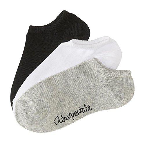 Aeropostale Womens 3 Pack Basic Ankle