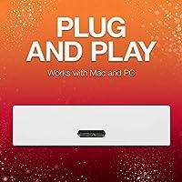 Backup Plus 5TB External USB 3.0 Portable Hard Drive Seagate Red