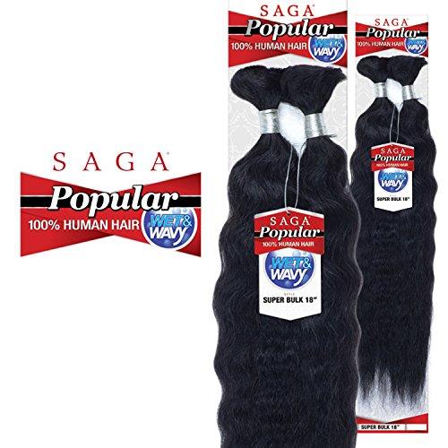 wet and wavy braids - 1