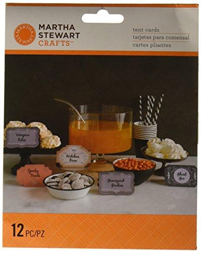 Martha Stewart Crafts Spooky Night Tent Cards, 48-20427 -