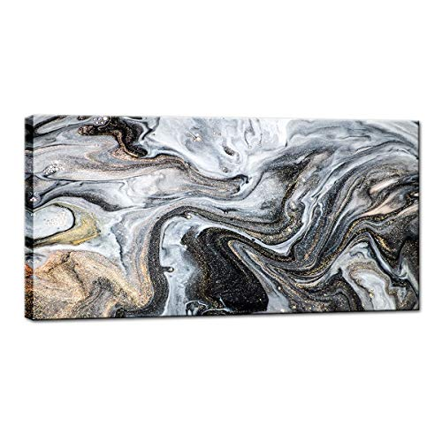 BIL-YOPIN Canvas Wall Art Abstract Painting Prints Wall Artworks Pictures 20x40inch Canvas Print Wall Art D cor Paintings for Home Living Room Bedroom Office Wall Decoration Framed Ready to Hang