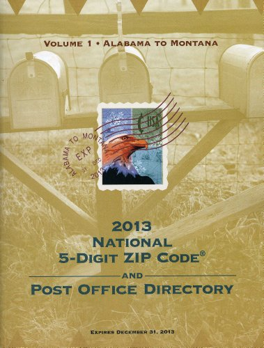 Zip Code Directory, 2013 for sale  Delivered anywhere in USA