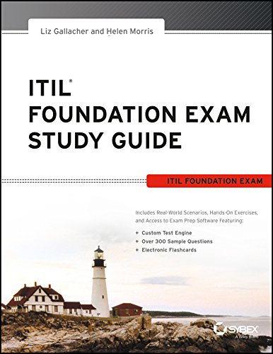 buy itil foundation exam study guide sybex book online at low rh amazon in itil foundation exam study guide liz gallacher pdf itil foundation exam study guide