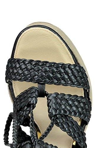 PALOMA Femme Cuir MCGLCAT03179E Compensées BARCELÓ Noir Chaussures r5xAIr7n