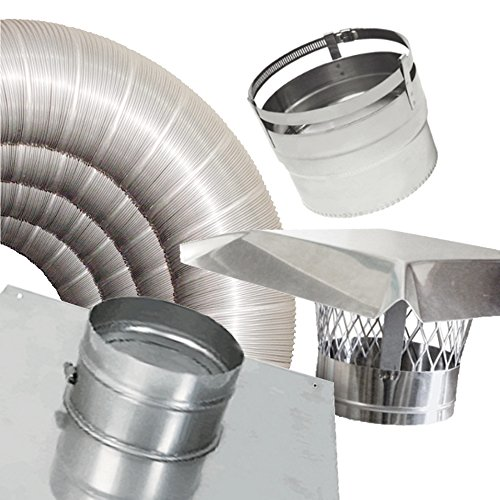 Rockford Chimney Supply Rockflex Stainless Steel Flexible