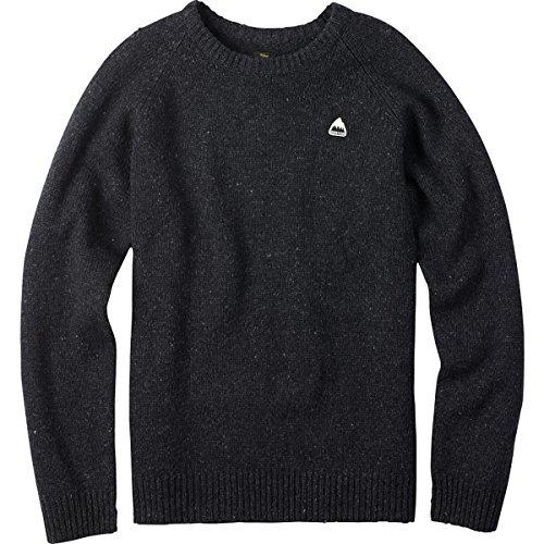 Burton - Mens Gus Sweater, True Black Heather,