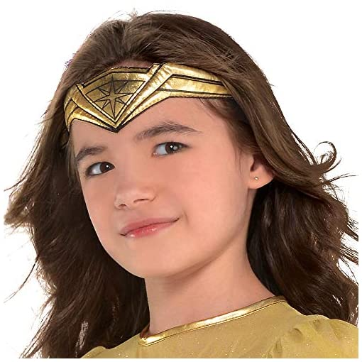 Suit Yourself Wonder Woman Movie Halloween Costume for Girls, Includes Accessories