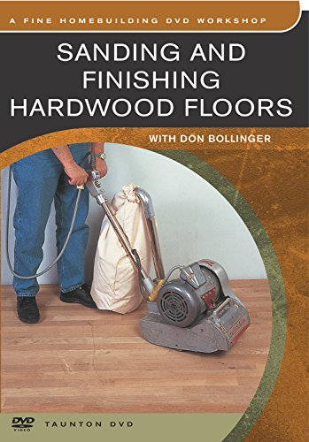 (Sanding And Finishing Hardwood Floors (DVD)