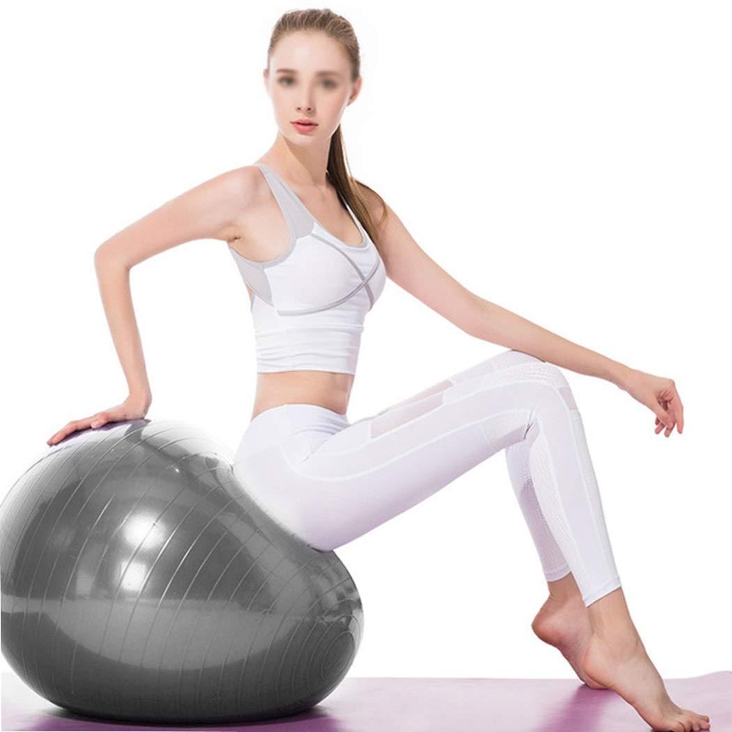 HUIFEI Engrosada A Prueba De Explosiones Yoga Ball 65 Cm Fitness Deportes Midwifery Balance Ball Ladies Fitness Ball