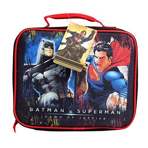 BATMAN vs. SUPERMAN RECTANGULAR LUNCH BAG