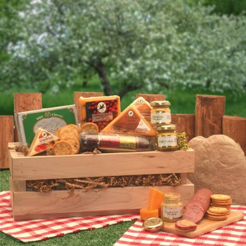 Gourmet Gift Signature Sausage & Cheese Crate