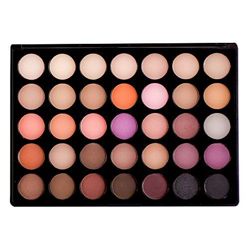 35 warm color palette morphe - 5