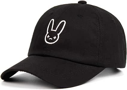 JKYJYJ Gorra De Beisbol Bad Bunny Papá Sombrero Rapero Reggaeton ...