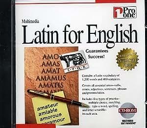Amazon com: Latin for English