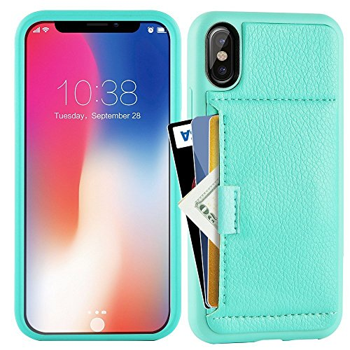 new style ff2fb 6bde3 iphone X Case, iphone x Wallet Case, ZVE Apple iphone x Case - Import It All