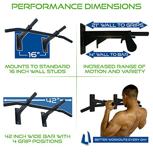 Ultimate Body Press Wall Mount Pull Up Bar Amp Bodyweight