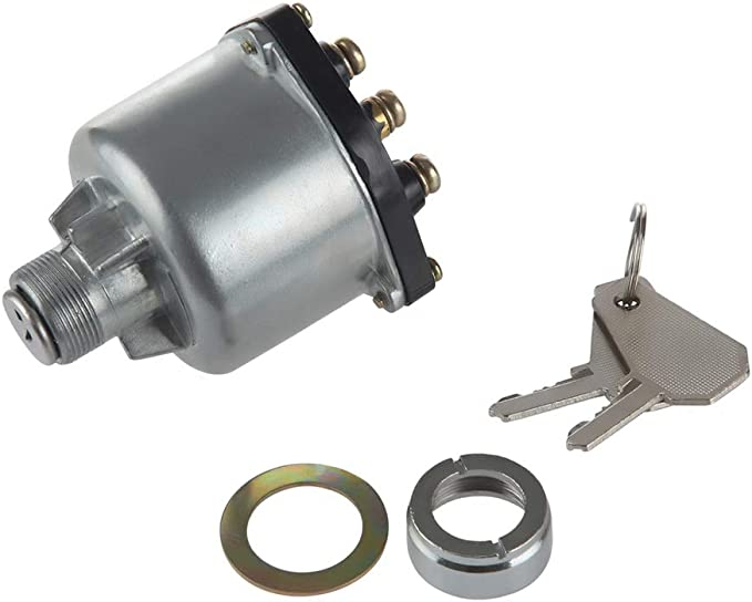 MIDIYA Lucas Isuzu 9-82710045-0 Ignition starter key Switch With 6 Terminal Wire Digger With 2 Keys For Diesel Engine Agricultural machinery,forklift construction machinery and replaceme tractor