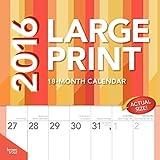Large Print - 2016 Calendar 12 x 12in