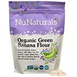 NuNaturals - Organic – Green Banana Flour - Gluten Free and Vegan - 1 lb