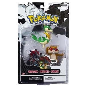Jakks Pacific - Pack Figurines - Pokémon Zoroark - Servine - Patrat - 0039897279992