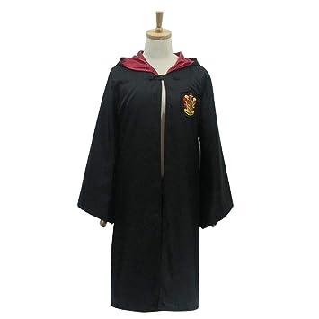 unbrand Adulto Niños Mago Disfraz Harry Potter Quidditch Hogwarts ...