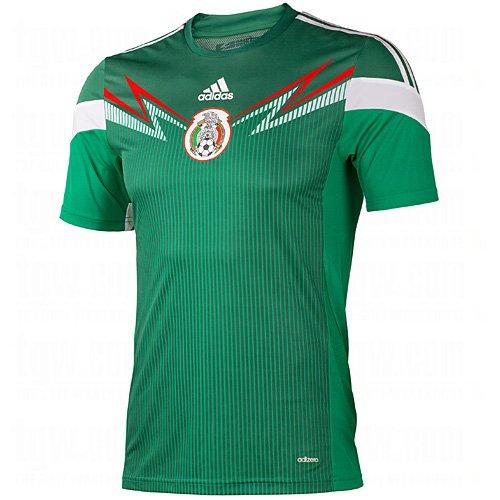 adidas Mexico Youth Home Jersey (YXL)