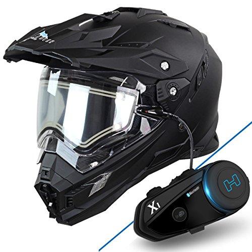 Dual Sport Helmet With Bluetooth - 7