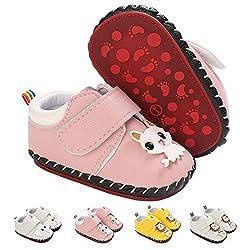 Baby-Krabbelschuhe Lauflernschuhe, Nette Karikatur-Tier-Babyschuhe Sandalen Mit Klettverschluss |PU Lederfreizeitschuhe…