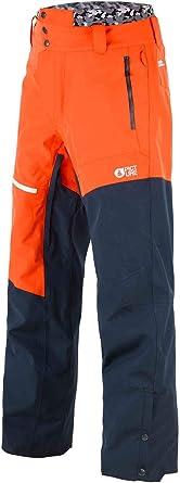 Picture Organic Pantalon De Ski Alpin Orange Dark Blue