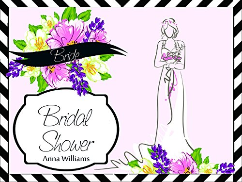 Custom Bridal Shower Artistic Paint Drawing Bride Party Poster - sizes 36x24, 48x24, 48x36; Personalized Wedding Anniversary Home Decorations, Handmade Party Supply Photo Booth (Homemade Halloween Photo Backdrops)