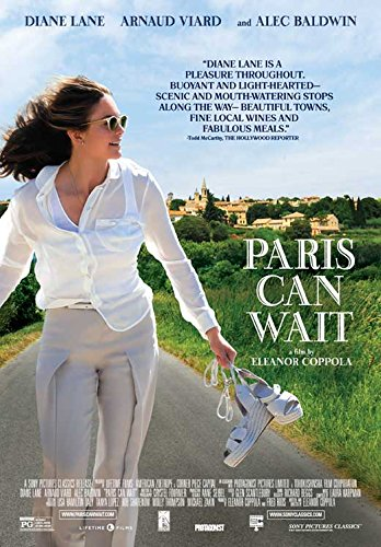 Paris Can Wait Movie POSTER 27 x 40, Diane Lane, Alec Baldwin , A, MADE IN THE U.S.A.