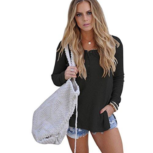 コーラス放棄されたくさびサクララ(Sakulala) トップス シャツ デザイン 長袖 白い 前開き デザイン 通勤着 着やせ 40代 春 秋 (L, 黒い)