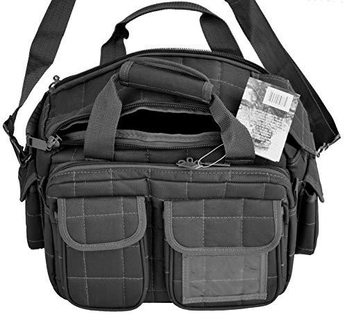 Explorer R1 Deluxe Tactical Padded Shooting Ammo Range Rangemaster Gear Carry Bag Pistol Hand Gun Case Black