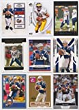 Tom Brady / 12 Different Football Cards Featuring Tom Brady! Superbowl MVP!