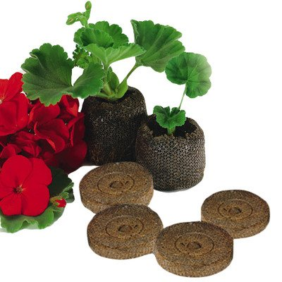 Elixir Gardens ® 33mm Jiffy 7 Peat Plug Propagation Pellets for Seedlings / Cuttings x 25