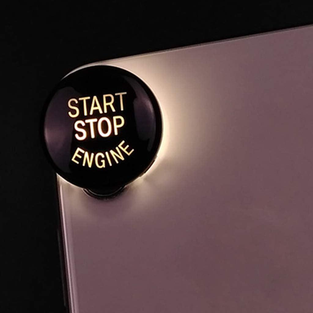 Rot Z/ündung Druckschalter Deckel in Verschiedene Farbe Verf/ügbar Baoblaze 1 St/ück Auto Motor Start Stop-Key Druckknopfabdeckung