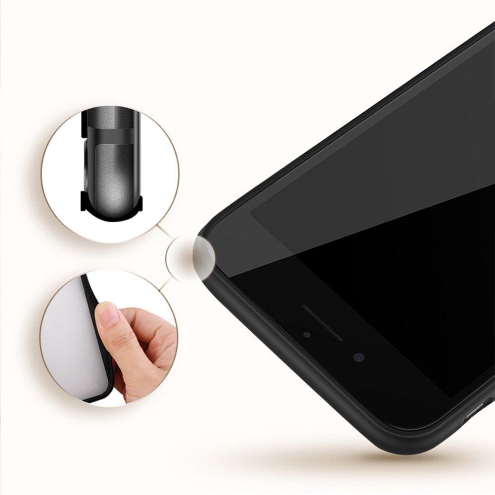 Carcasa 3d Relief Pintura para iPhone integrado Anillo soporte ...