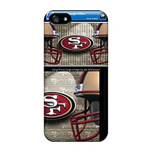 EIV2139UIfH San Francisco 49ers Awesome High Quality Iphone 5/5s Case Skin