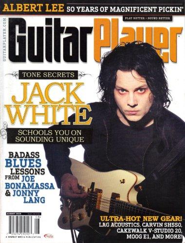 Guitar Player Magaznie (August 2010- Jack White, Vol. 44, No. 8)