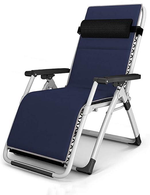 Lounge chair Silla reclinable Plegable, Silla de Gravedad Cero con ...