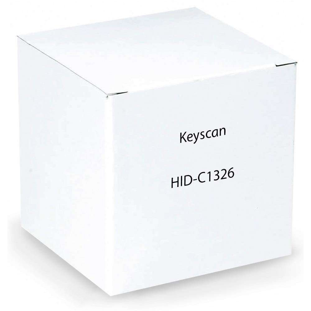 KEYSCAN HID-C1326 26 BIT KEY CARD PACKAGE OF 50