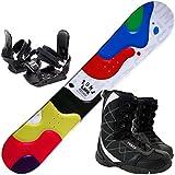 ツマ(ZUMA) スノーボード 3点セット LAVA 金具付き ブーツ付き