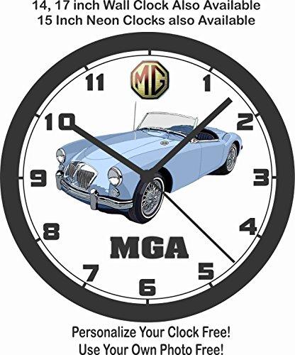 Amazon Com Mg Mga Sports Car Wall Clock Free Usa Ship Choose 1 Of