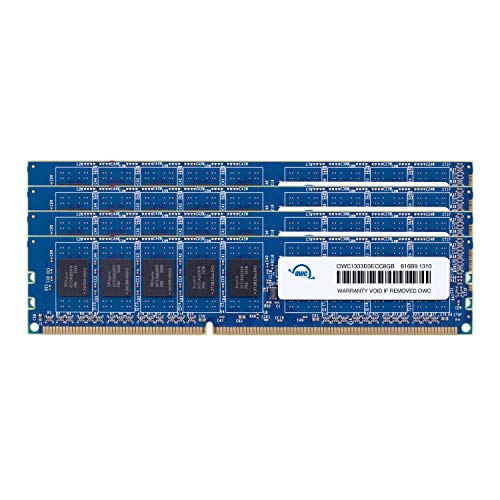 OWC 32.0GB (4X 8GB) DDR3 ECC-R PC10600 1333MHz SDRAM ECC for Mac ()